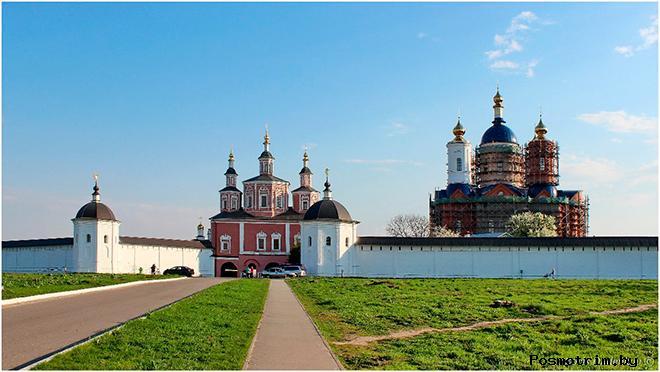 Свято-Успенский Свенский монастырь Брянск