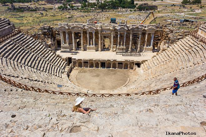 Амфитеатр в городе Иераполис