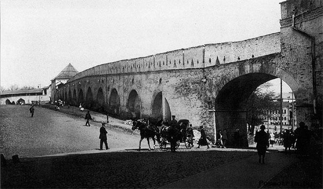 Китайгородская стена Москва