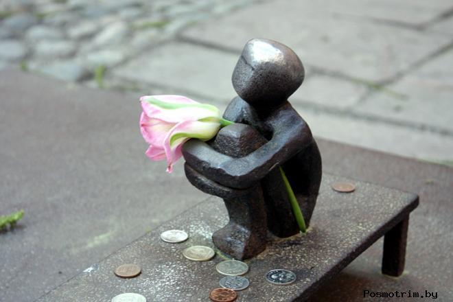 Самый маленький памятник Стокгольма