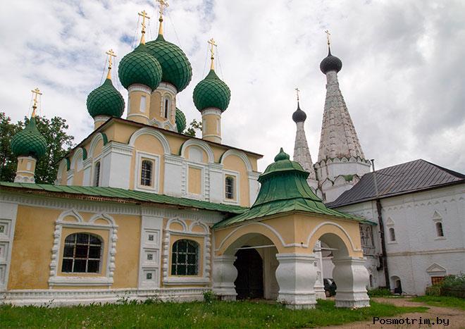 Алексеевский монастырь Углич