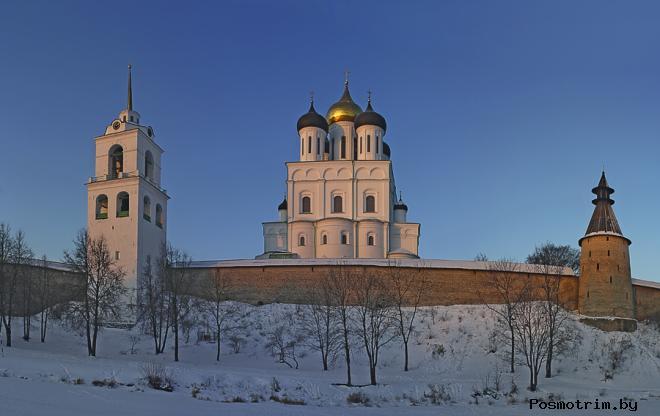 История Троицкого собора Пскова