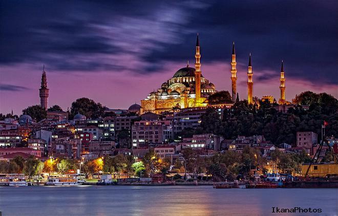 Мечеть Сулеймание в Стамбуле усыпальница создателя Синана