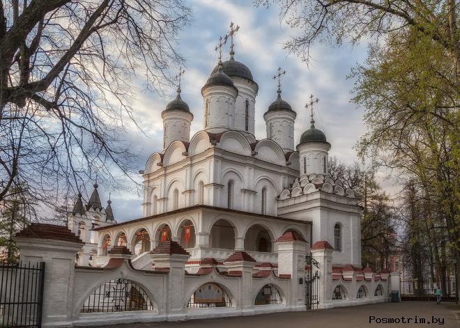 Архитектура Преображенского храма Больших Вязем