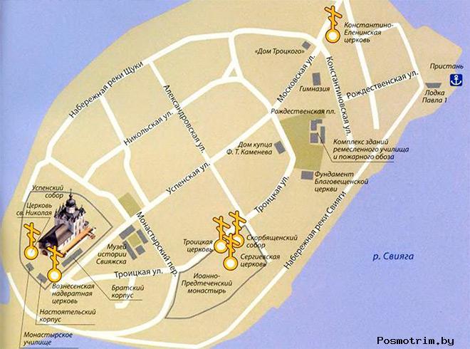 Успенский монастырь Свияжск богослужения контакты как добраться расположение на карте