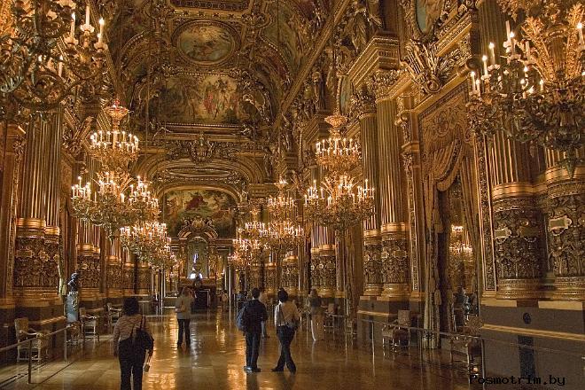 Архитектура Парижского театра Гранд Опера