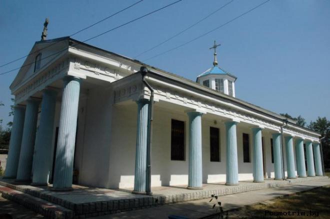 Архитектура Покровского храма Тамани