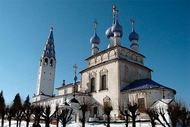 Крестовоздвиженский собор Палех