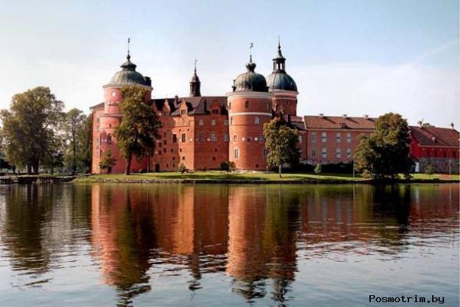 Замок Грипсхольм Швеция