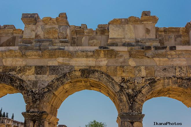 Храм Апполона в Иераполисе (Хиераполис) Турция Памуккале