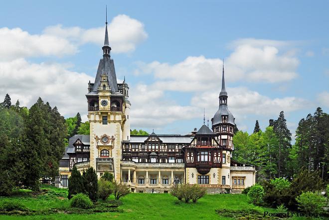 Замок Пелеш Румыния