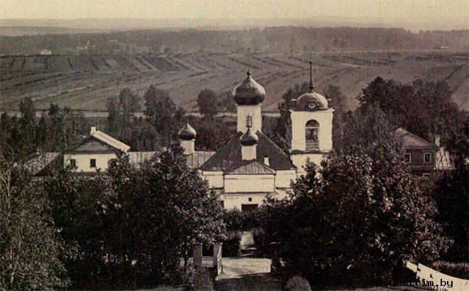 Первый храм Знамения в Кунцево строительство