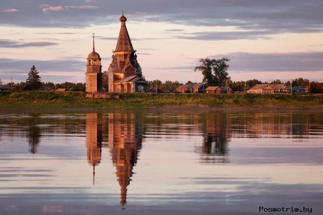 Село Пияла Вознесенская церковь
