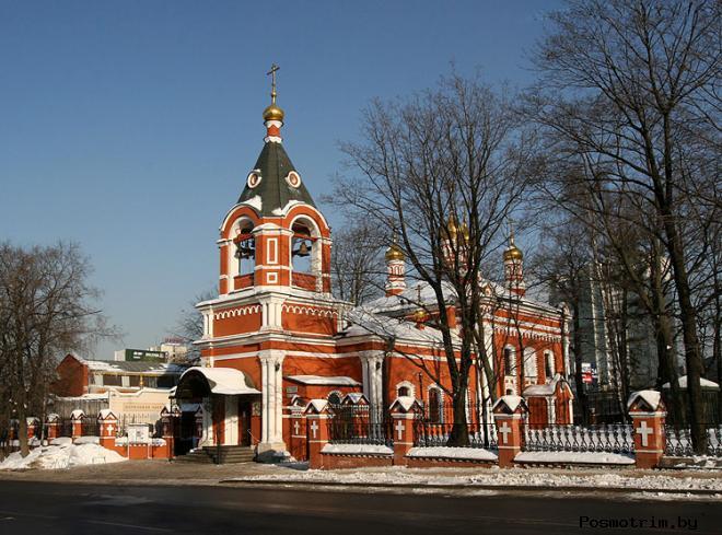 Храм Рождества Пресвятой Богородицы во Владыкино Москва