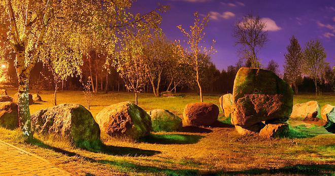 Музей валунов в Минске адрес фото история возникновения парка-музея камней в Минске