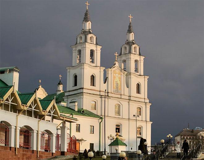 Архитектура Свято-Духова собора Минска