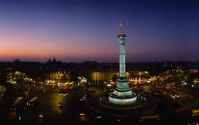 Расположение площади Бастилии на карте Парижа Как добраться до площади Бастилии самостоятельно