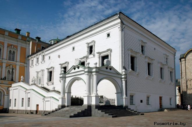 Грановитая палата Большого Кремлёвского дворца Московского кремля