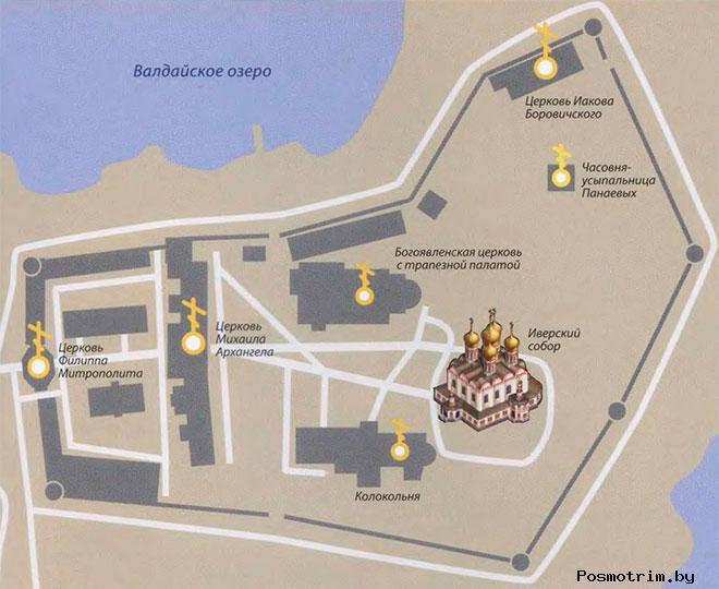 Валдайский монастырь график работы богослужения паломничество контакты как добраться расположение на карте