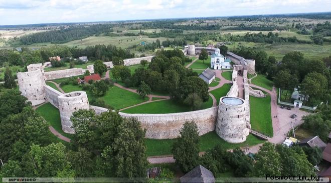 Изборская крепость Псковская область