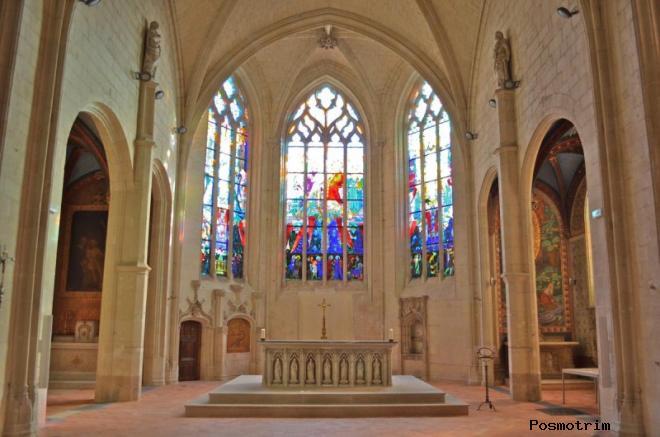 Алтарь (Choeur) собора Парижской Богоматери