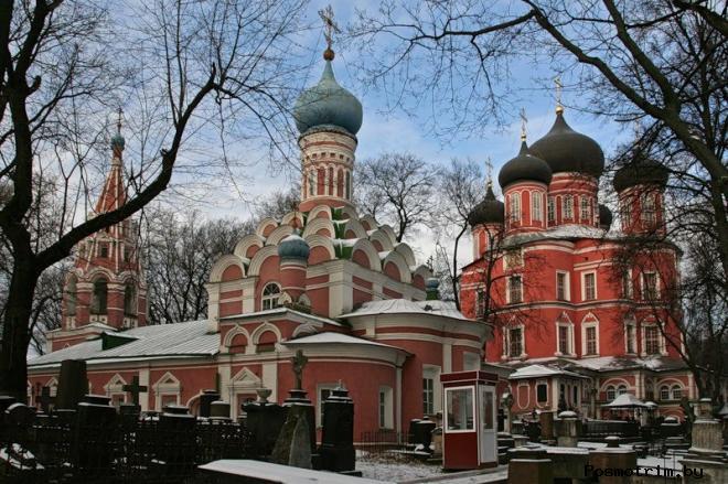 Донской монастырь Москва