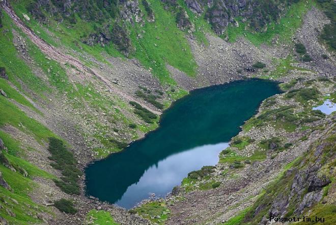 Озеро Шайтан - Фонтаны и плавающие острова