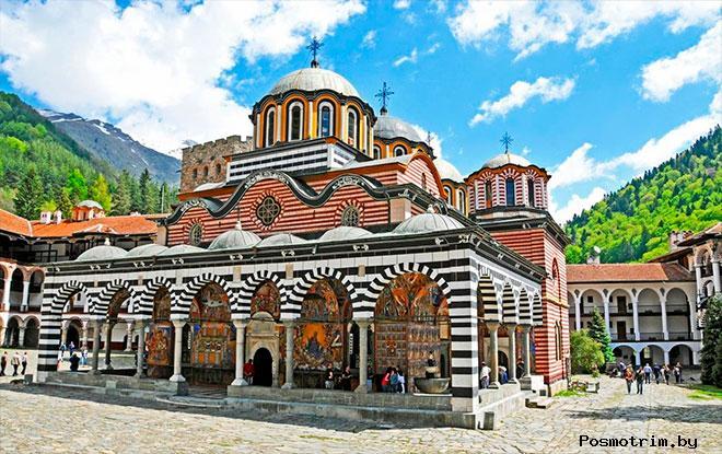 Рильский монастырь Болгария