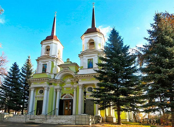 Троицкая церковь Павлино