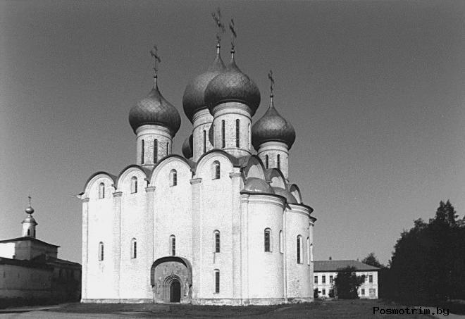 Общая архитектура Софийского собора в Вологде