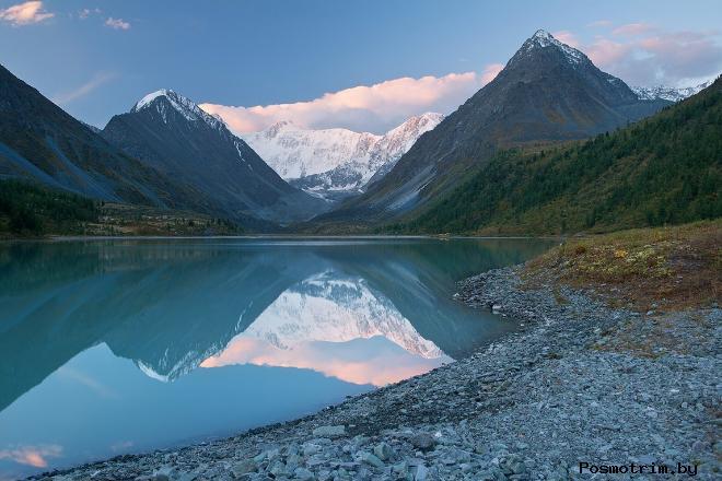 Аккемское озеро Алтай