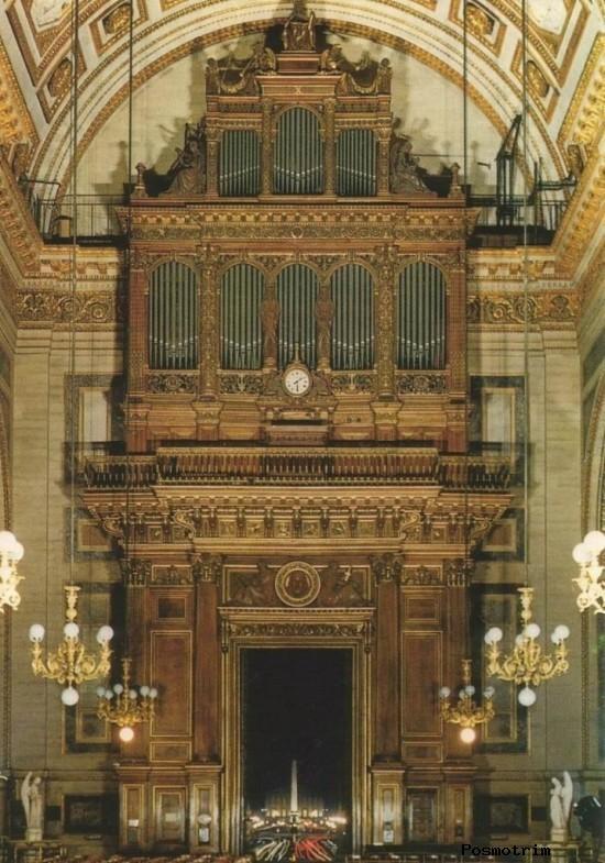 Орган церкви Ла-Мадлен в Париже
