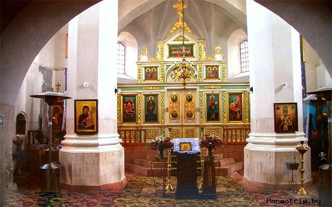 Мурованковская церковь-крепость внутреннее убранство