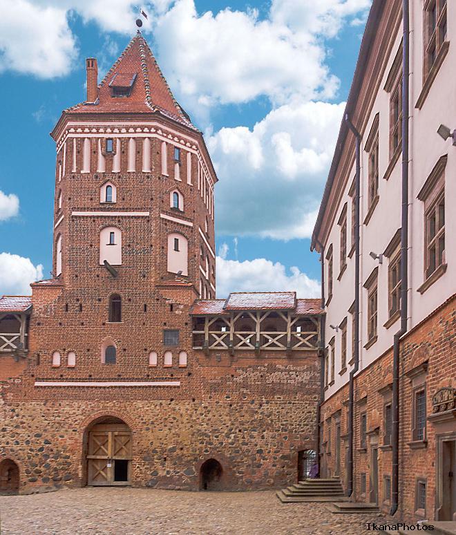 Мирский замок история войн