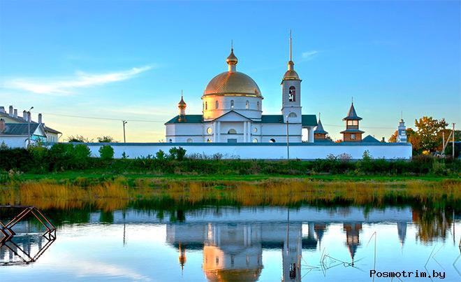 Спасо-Казанский монастырь Остров