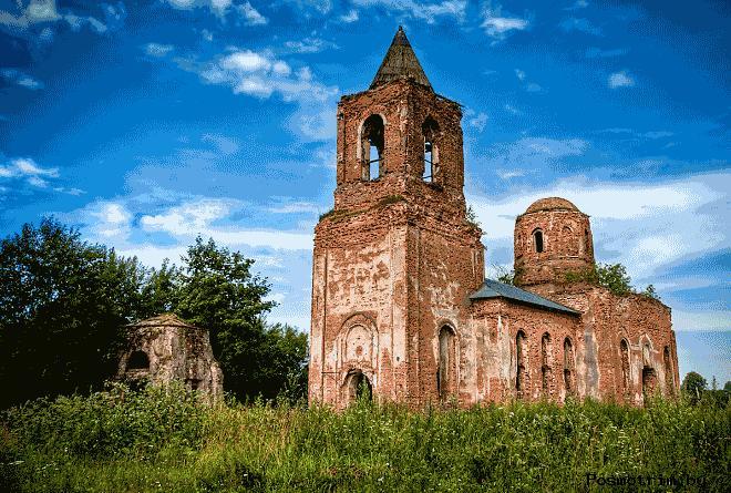Церковь святого Алексия Смоляны Алексеевская церковь в Смолянах фото история расположение на карте Беларуси