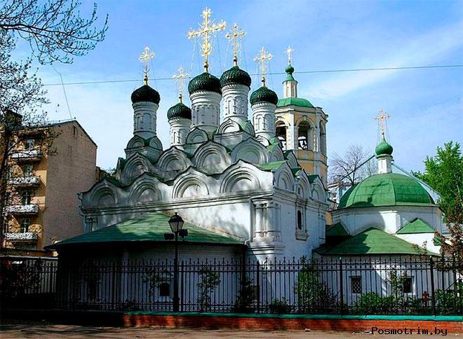 Храм Успения Пресвятой Богородицы в Путинках Москва