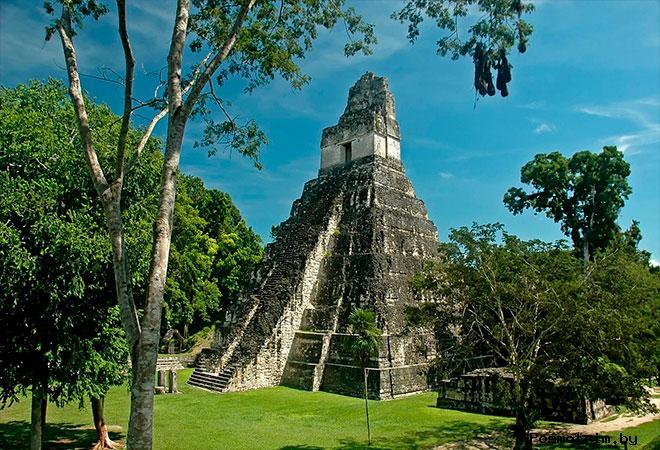 Город Тикаль Гватемала