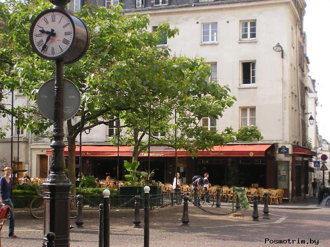 Латинский квартал Парижа сегодня прогулка по кварталу