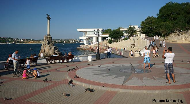 Приморский бульвар Севастополь