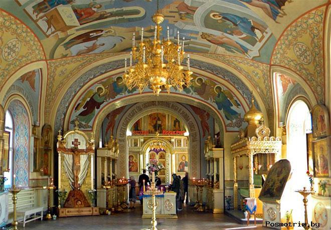 Никольская церковь Таганрога внутри