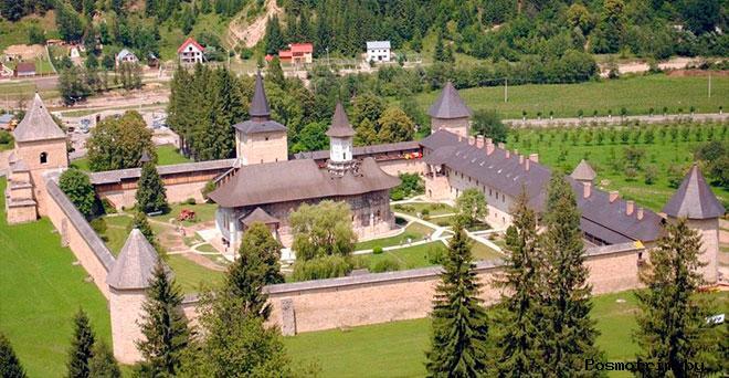 Монастырь Сучевица Румыния