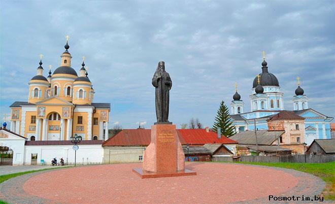 Вышенский монастырь история