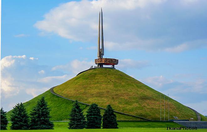 Курган славы создан на месте «Минского котла» операции «Багратион»