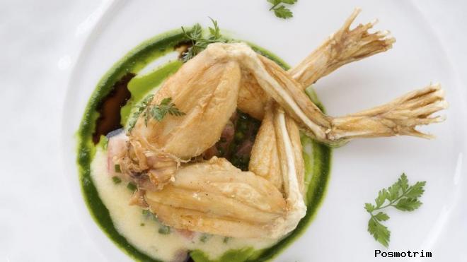 Лягушачьи лапки — des cuisses de grenouille