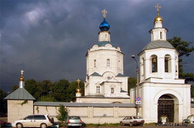 Успенский храм Видное