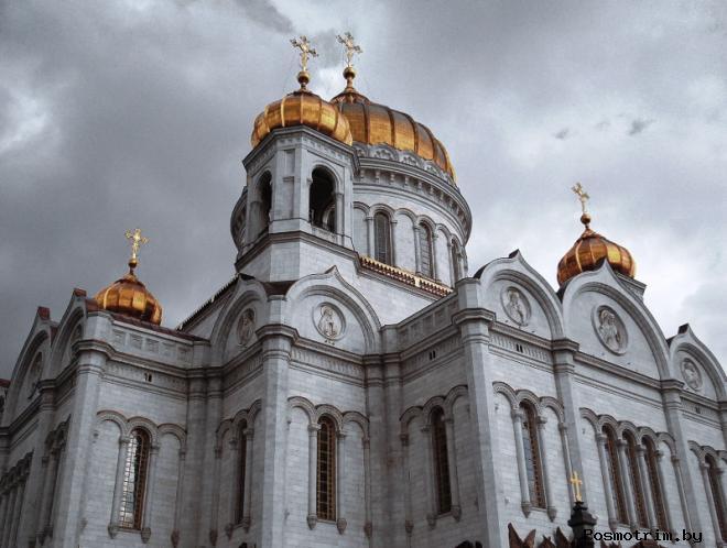 Главный собор России храм Христа Спасителя