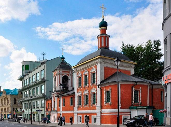 Архитектура храма Николая Чудотворца в Кленниках