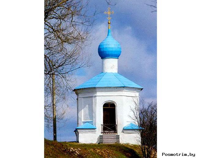 Часовня Четырех Святителей Снетогорский монастырь