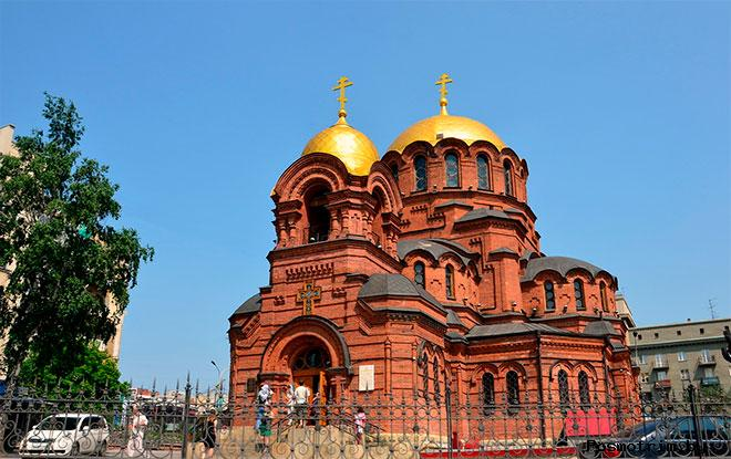 Собор Александра Невского Новосибирск